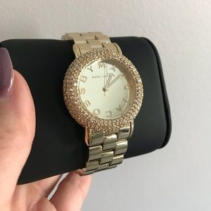 Marc Jacobs • Marci Pave Gold Watch